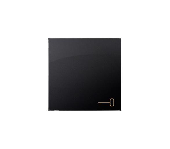Klawisz pojedynczy do łączników i przycisków grafit mat, metalizowany BMKWK1/28