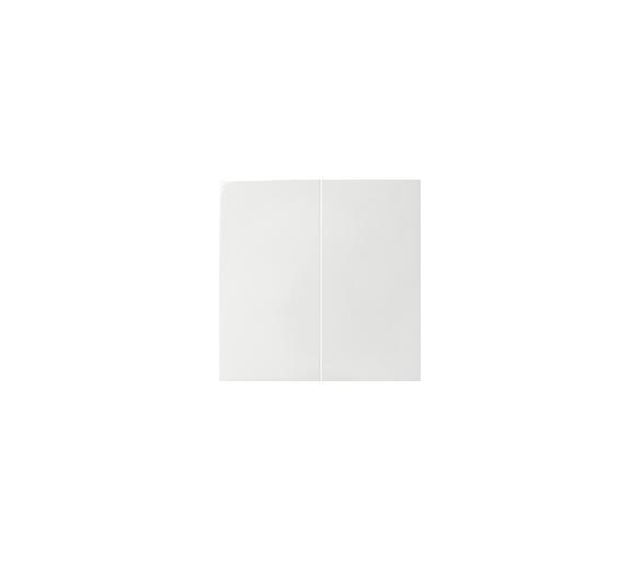 Klawisz podwójny do łączników i przycisków biały 82026-30