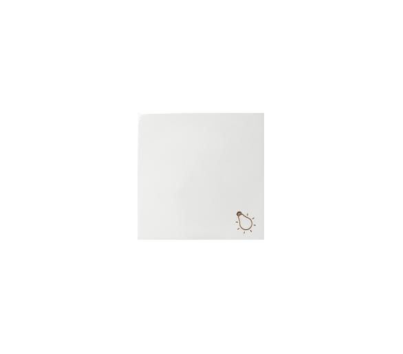 Klawisz pojedynczy do łączników i przycisków biały 82018-30