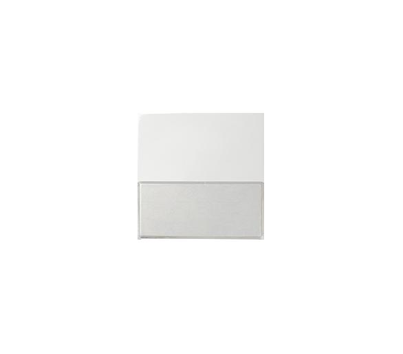 Klawisz pojedynczy z polem opisowym do łączników i przycisków biały 82063-30