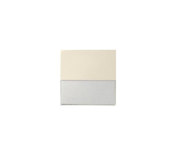 Klawisz pojedynczy z polem opisowym do łączników i przycisków beżowy 82063-31