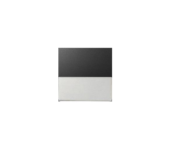 Klawisz pojedynczy z polem opisowym do łączników i przycisków grafit 82063-38