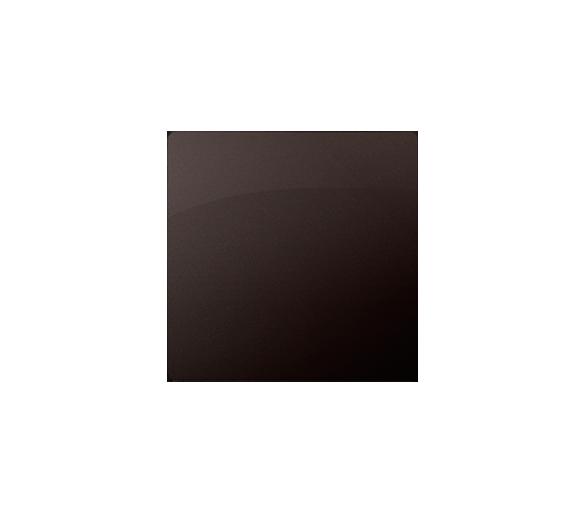 Zaślepka bez mostka czekoladowy mat, metalizowany