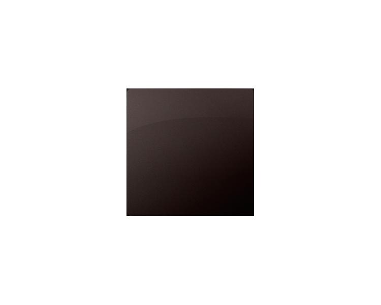 Zaślepka bez mostka czekoladowy mat, metalizowany BMP/47
