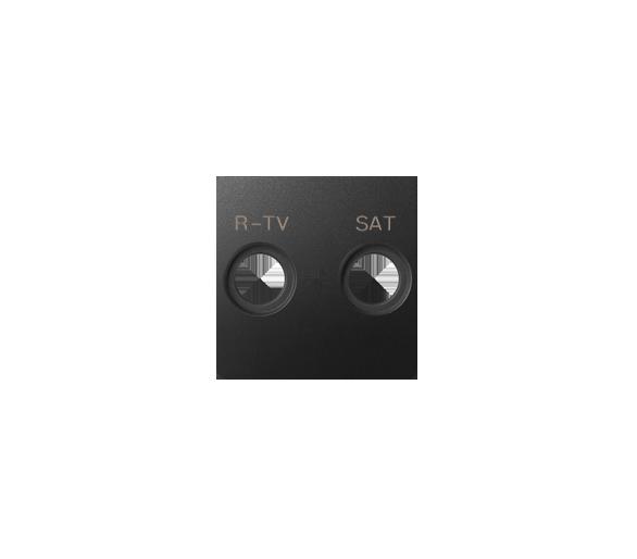 Pokrywa do gniazda antenowego RTV-SAT grafit 82097-38