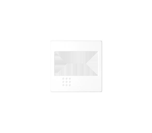 Pokrywa do ściemniacza na podczerwień, łącznika przyciskowego żaluzjowego, łącznika żaluzjowego elektronicznego biały 82080-30