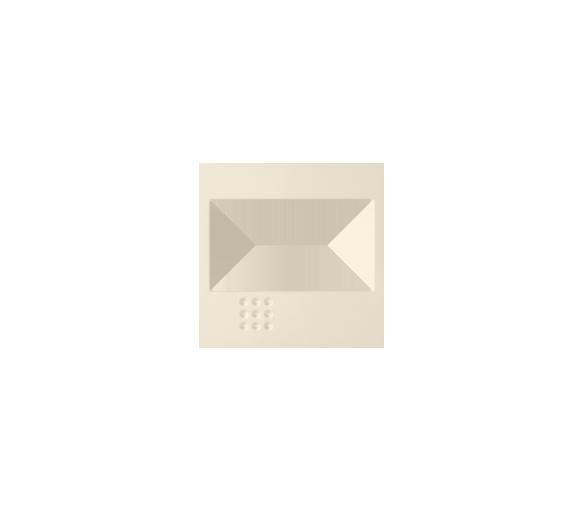 Pokrywa do ściemniacza na podczerwień, łącznika przyciskowego żaluzjowego, łącznika żaluzjowego elektronicznego beżowy 82080-31