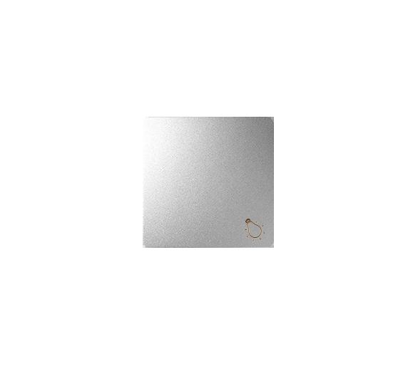 """Klawisz pojedynczy z piktogramem """"światło"""" Typ konf.:klawisz aluminium 82018-93"""