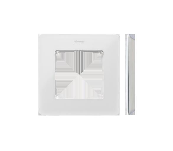 Ramka 1- krotna Detail ORIGINAL-mono, BIAŁA / podstawa Szara 8200610-030