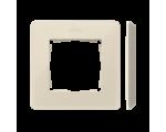 Ramka 1- krotna Detail ORIGINAL-mono, KREM / podstawa Krem 8200610-031