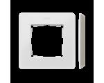 Ramka 1- krotna Detail ORIGINAL-mono, BIAŁA / podstawa Szary ciepły 8200610-029