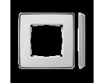 Ramka 1- krotna aluminium biały 8201610-243