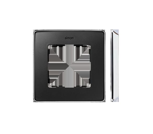 Ramka 1- krotna chrom grafit 8201610-241