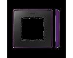 Ramka 1- krotna fioletowy grafit 8201610-251