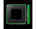 Ramka 1- krotna grafit jasny zielony 8201610-260