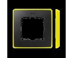Ramka 1- krotna grafit jasny żółty 8201610-262