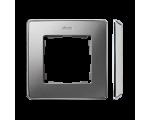 Ramka 1- krotna aluminium zimne chrom 8201610-093