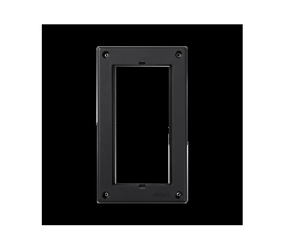 Ramka osprzętowa SIMON 500 1×S500 (element zapasowy) szary grafit 52051801-038