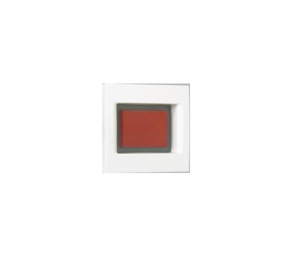 Płytka K45 z lampką sygnalizacyjną K45 biały KL05/9