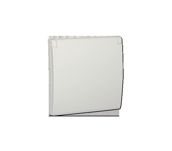 Pokrywa do gniazda wtyczkowego z uziemieniem - do wersji IP44- klapka w kolorze pokrywy ecru MGZ1BP/10