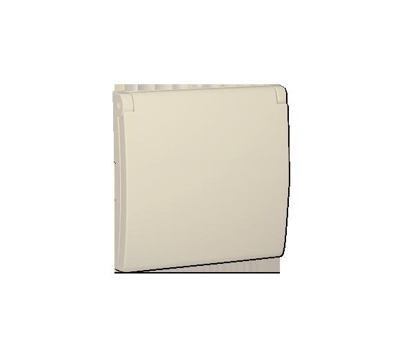 Pokrywa do gniazda wtyczkowego z uziemieniem - do wersji IP44- klapka w kolorze pokrywy beżowy MGZ1BP/12