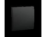 Pokrywa do gniazda wtyczkowego z uziemieniem - do wersji IP44- klapka w kolorze pokrywy grafit mat, metalizowany MGZ1BP/28