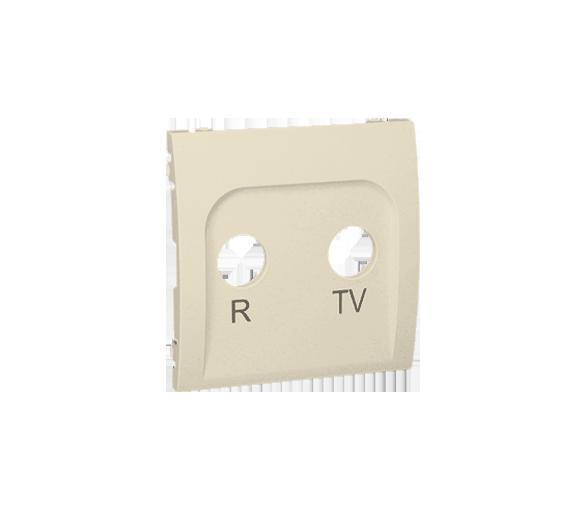 Pokrywa do gniazda antenowego R-TV końcowego i przelotowego beżowy MAP/12