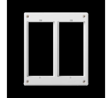 Ramka osprzętowa SIMON 500 2×S500 (element zapasowy) czysta biel 52051802-030