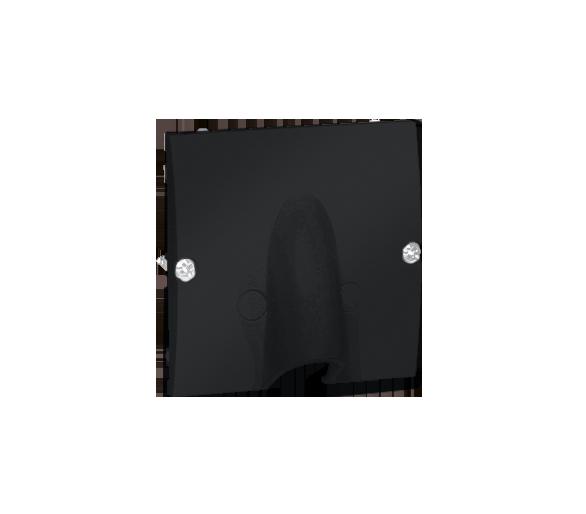 Wyjście kablowe grafit mat, metalizowany MPK1.02/28