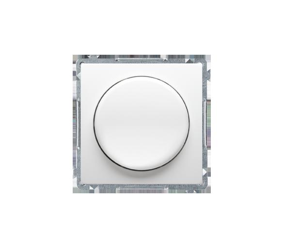 Ściemniacz do LED ściemnialnych, naciskowo-obrotowy, jednobiegunowy biały W układzie schodowym:Tak BMS9L.01/11
