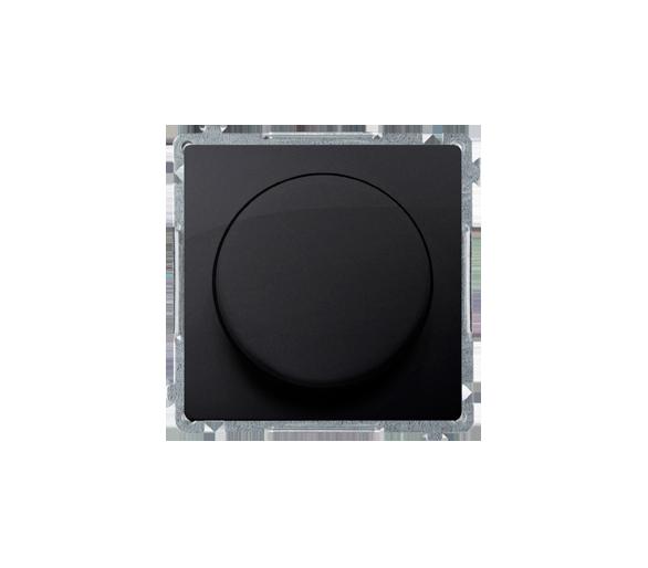 Ściemniacz do LED ściemnialnych, naciskowo-obrotowy, jednobiegunowy grafit mat, metalizowany W układzie schodowym:Tak BMS9L.01/2