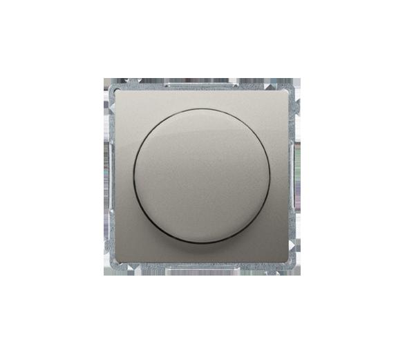 Ściemniacz do LED ściemnialnych, naciskowo-obrotowy, jednobiegunowy satynowy, metalizowany W układzie schodowym:Tak BMS9L.01/29