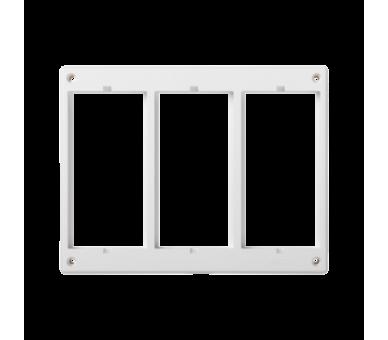 Ramka osprzętowa SIMON 500 3×S500 (element zapasowy) czysta biel 52051803-030