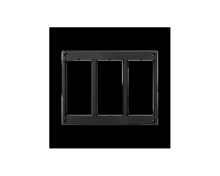 Ramka osprzętowa SIMON 500 3×S500 (element zapasowy) szary grafit 52051803-038
