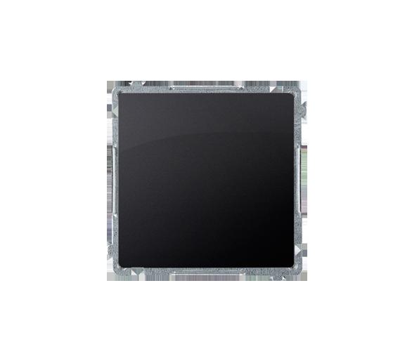 Przycisk pojedynczy zwierny bez piktogramu (moduł) 10AX 250V, szybkozłącza, grafit mat, metalizowany BMP1.01/28