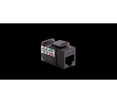 WYCOFANY Z OFERTY, wkład gniazda komputerowego RJ45 kat.5e, nieekranowany (UTP) czarny LRJ455E