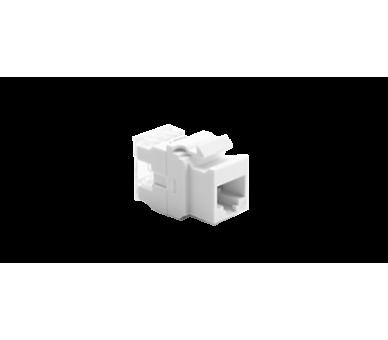 Wkład gniazda komputerowego RJ45 kat.5e, nieekranowany (UTP) biały MRJ455E