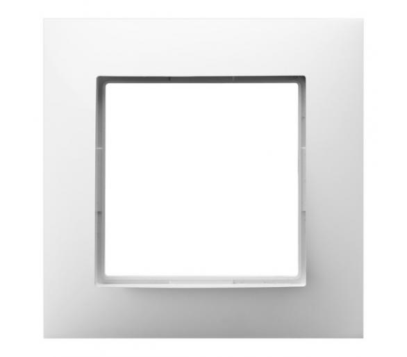 Ramka pojedyncza biały Aria R-1U/00