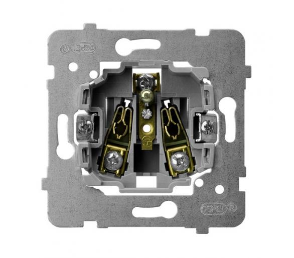 Mechanizm gniazda pojedynczego z uziemieniem biały Aria (elementy) M1GP-1Z/G