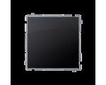 Łącznik jednobiegunowy (moduł) 10AX 250V, szybkozłącza, grafit mat, metalizowany BMW1.01/28