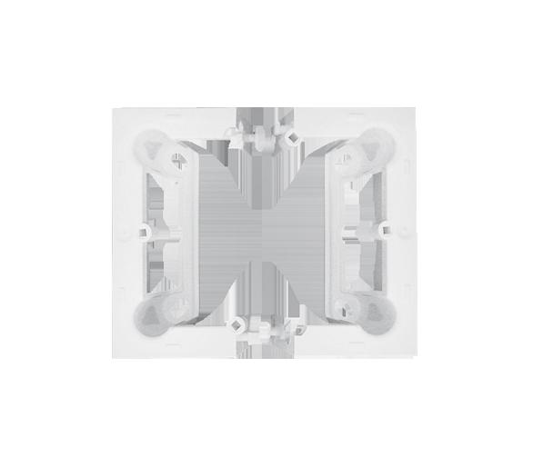 Puszka natynkowa 1-krotna biały PSC-030