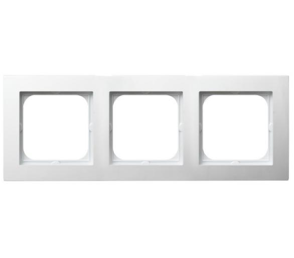 Ramka potrójna biały As R-3G/00