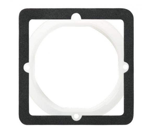 Zestaw uszczelniający do łączników IP-44 biały As ZU-1G