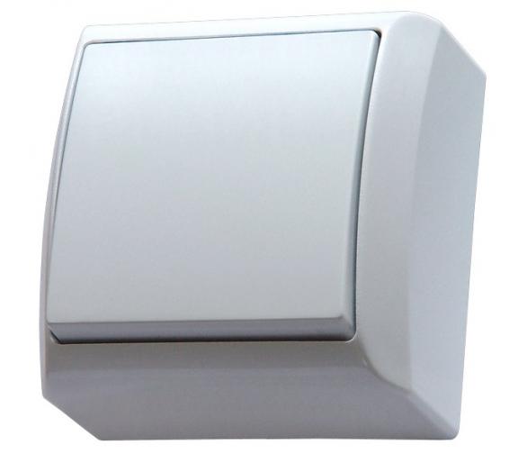 Łącznik jednobiegunowy biały Bis ŁN-1B/00