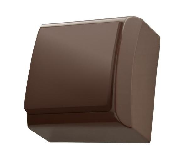 Łącznik jednobiegunowy brązowy Bis ŁN-1B/24