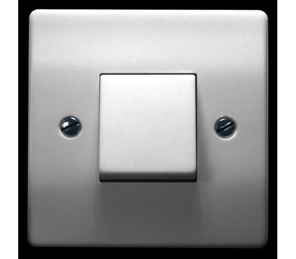 Łącznik jednobiegunowy biały Eta ŁP-1E/00