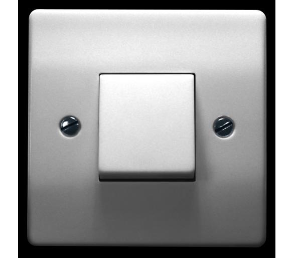 Łącznik dwuobwodowy schodowy biały Eta ŁP-3E/00