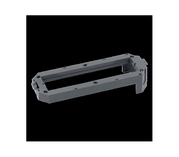 Ramka osprzętowa FB 2×S500 szary FBA401/1