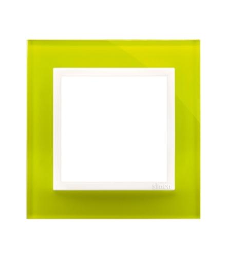 ramka-1-krotna-szklana-limonkowy-sorbet-